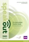 Image for Speakout Pre-Intermediate 2nd Edition Teacher's Guide with Resource & Assessment Disc Pack