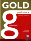 Image for Gold Preliminary Coursebook with CD-ROM Pack