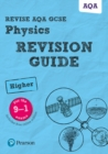 Image for Physics  : for the 9-1 examsHigher,: Revision guide