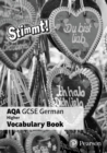 Image for Stimmt! AQA GCSE German Higher Vocab Book (pack of 8)