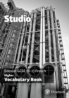 Image for Studio Edexcel GCSE French Higher Vocab Book (pack of 8)