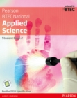 Image for BTEC level 3 Nationals applied science.: (Student book 2)