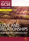 Image for AQA poetry anthology: Love and relationships