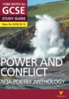 Image for AQA poetry anthology: Power and conflict