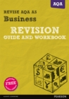 Image for REVISE AQA AS Level Business Revision Guide and Workbook