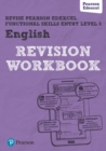 Image for Revise Edexcel Functional Skills English Entry Level 3 Workbook
