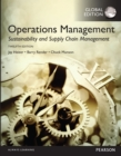 Image for Operations management: sustainability and supply chain management.