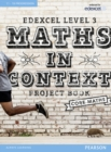 Image for Edexcel maths in context project book