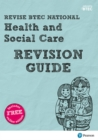 Image for Health and social care: Revision guide
