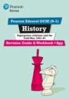 Image for Pearson Edexcel GCSE (9-1) History Superpower relations and the Cold War, 1941-91 Revision Guide and Workbook + App : Catch-up and revise