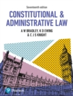 Image for Constitutional and administrative law.