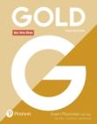 Image for Gold B1+ Pre-First New Edition Exam Maximiser with Key