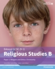 Image for Religious studies B.: (Religion and ethics - Christianity student book.) : Paper 1,