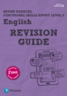 Image for Revise Edexcel functional skills entry level 3 English: Revision guide