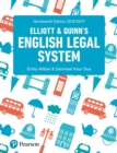 Image for Elliott & Quinn's English legal system.