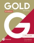 Image for Gold B1 Preliminary New Edition Coursebook and MyEnglishLab Pack