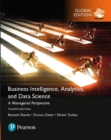Image for Business intelligence, analytics, and data science  : a managerial perspective