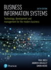 Image for Business information systems  : technology, development and management for the modern business
