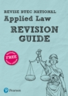 Image for Revise BTEC national applied law: Revision guide