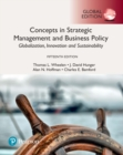 Image for Concepts in strategic management and business policy  : globalization, innovation, and sustainability