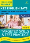 Image for KS2 grammar, P&S target skills question book for Year 5