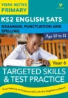 Image for KS2 grammar, P&S target skills question book for Year 6