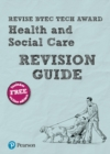Image for Revise BTEC tech award health and social care revision guide