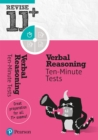 Image for Verbal reasoning: Ten-minute tests