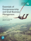 Image for Essentials of entrepreneurship and small business management