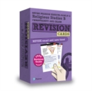 Image for Revise Pearson Edexcel GCSE (9-1) Religious Studies B Christianity and Islam Revision Cards : includes free online edition of revision guide