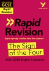Image for York Notes for AQA GCSE (9-1) Rapid Revision: The Sign of the Four