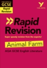Image for York Notes for AQA GCSE (9-1) Rapid Revision: Animal Farm