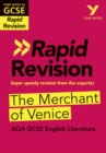 Image for York Notes for AQA GCSE (9-1) Rapid Revision: The Merchant of Venice