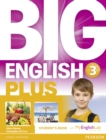 Image for Big English Plus American Edition 3 Students' Book with MyEnglishLab Access Code Pack New Edition