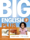 Image for Big English Plus American Edition 2 Students' Book with MyEnglishLab Access Code Pack New Edition
