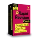 Image for York Notes for AQA GCSE (9-1) Rapid Revision Cards: Power and Conflict Anthology - Catch up, revise and be ready for 2021 assessments and 2022 exams