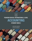 Image for Pearson Edexcel International A Level Accounting Student Book