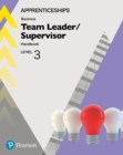 Image for Apprenticeship team leader/supervisorLevel 3,: Handbook + ActiveBook