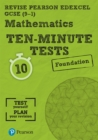 Image for Maths ten-minute testsFoundation