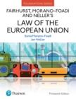 Image for Fairhurst, Morano-Foadi and Neller's Law of the European Union