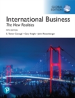 Image for International business  : the new realities