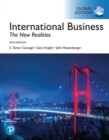 Image for International business: the new realities