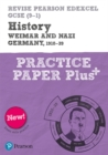 Image for History  : Weimar and Nazi Germany, 1918-1939: Practice paper plus