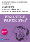 Image for Anglo-saxon and Norman England, c1060-88  : practice paper plus