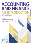 Image for Accounting and finance  : an introduction