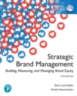 Image for Strategic brand management: building, measuring, and managing brand equity