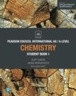 Image for Edexcel international AS level chemistry. : Student book