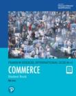Image for Pearson Edexcel International GCSE (9-1) Commerce. Student Book