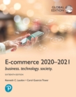 Image for E-Commerce 2020-2021: Business, Technology and Society, Global Edition