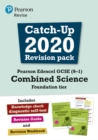 Image for Pearson Edexcel GCSE (9-1) combined scienceFoundation tier,: Catch-up 2020 revision pack